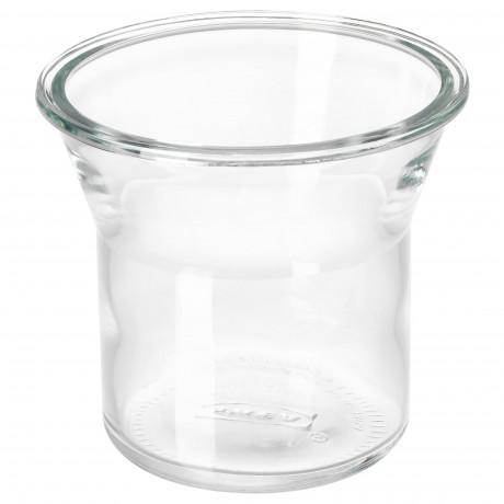 Банка ИКЕА/365+ круглой формы, стекло фото 0